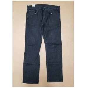 Levi's 513 Slim Straight Black Jeans Men's 36x32